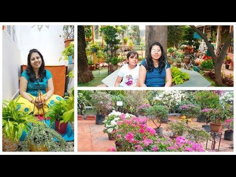 Shopping Plants For My Balcony | Go Green Nursery Tour | Special Pakora Recipe | Maitreyee's Passion
