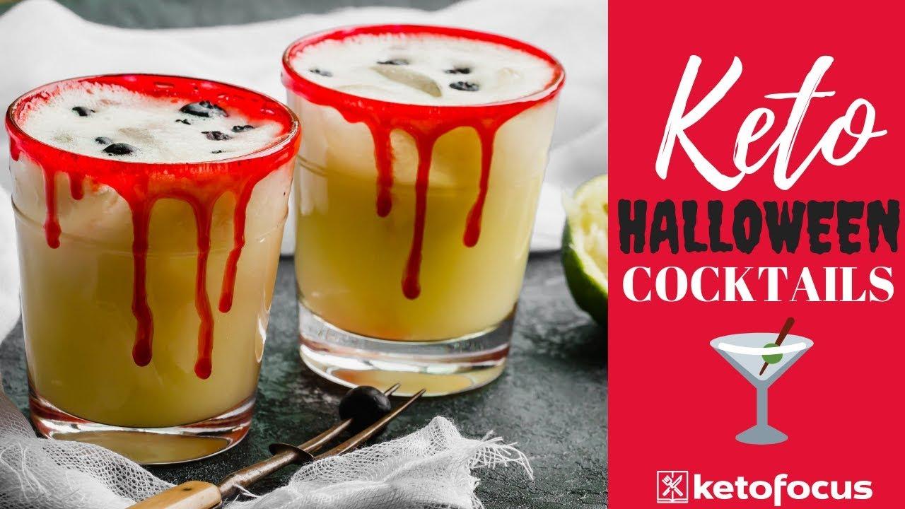 keto cocktails | keto halloween cocktail recipes | how to make a