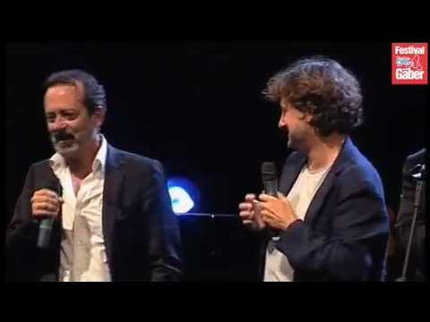 Rocco Papaleo e Leonardo Pieraccioni - Destra sinistra (Festival Gaber 2012)