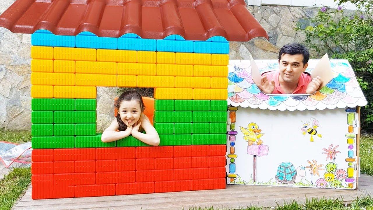 Babam Beni Eve Almadı Öykü Pretend play with colored Blog