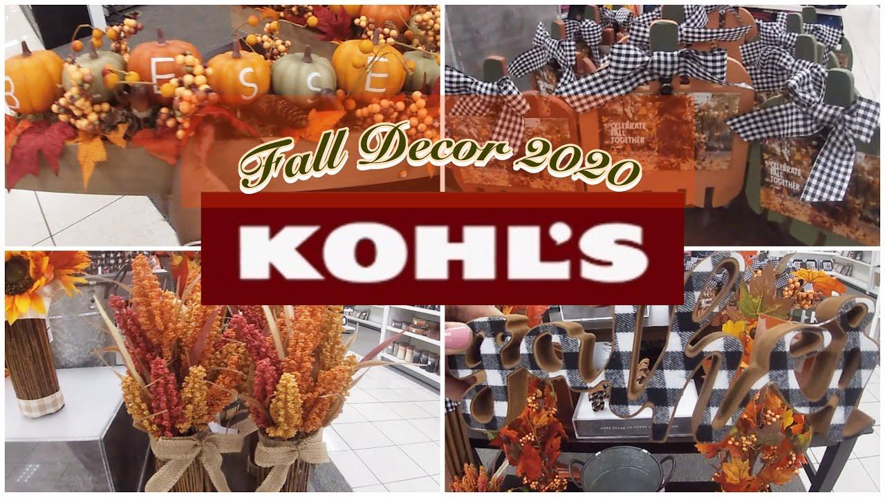 Kohl's Fall Decor 2020 🍂 Kohl's Fall Decor Sale 30% 35% Off