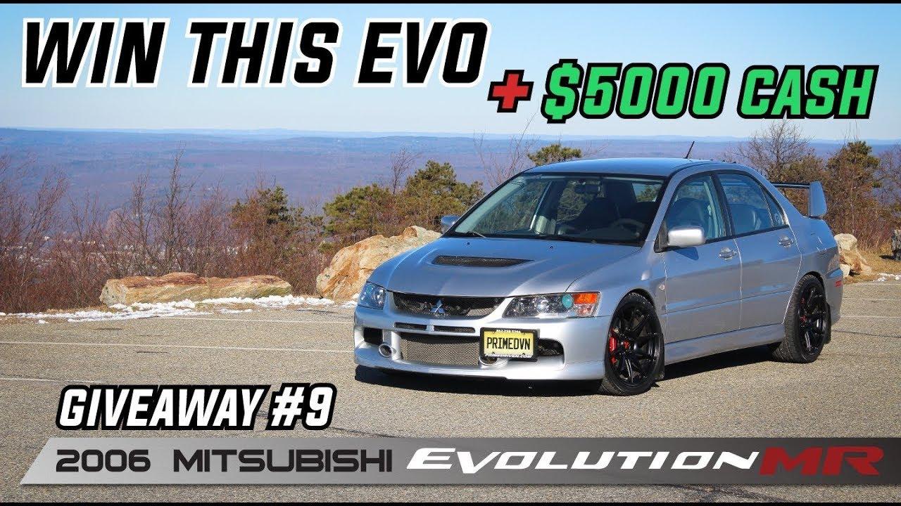 PRIME DRIVEN Car Giveaway  9 - 2006 Mitsubishi Evolution 9 MR + ... 77f3bfdefc8e