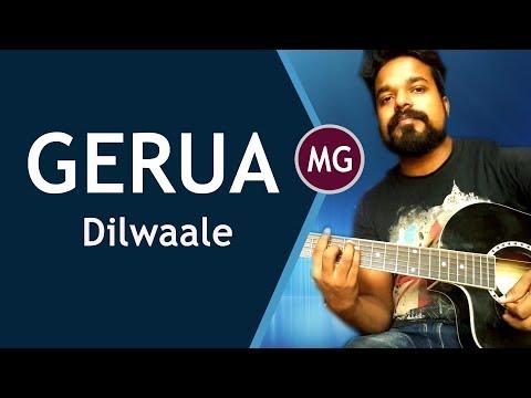 Gerua Guitar Lesson - Intro + Chords || Dilwale || Musical Guruji