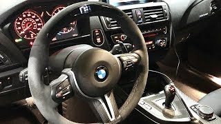 Bmw M Performance Alcantara Steering Wheel With Race Display  F87 M2 Dct Dinan S