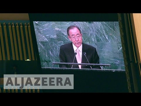 Syria war key concern at UN General Assembly