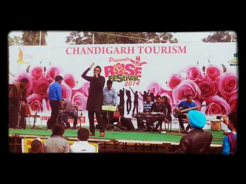 DHIYAN by Raj Gurmeet  at Rose Festival Chandigarh