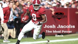 Josh Jacobs (RB, Alabama) Film Breakdown || 2019 NFL Draft
