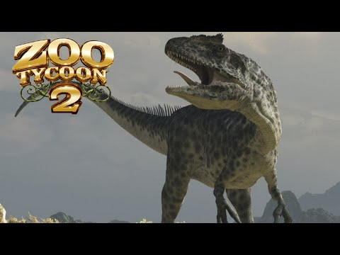 Zoo Tycoon 2: Allosaurus Exhibit Speed Build