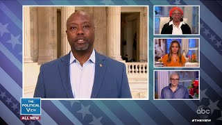 Sen. Tim Scott Explains Why He's Optimistic About COVID-19 Recovery by August | The View