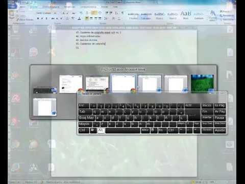Utilizar el teclado para pasar de una pantalla a otra - Cambiar una casa por otra ...