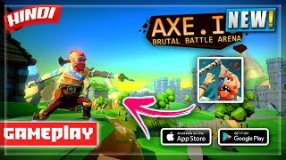 AXE.IO⛏️ *NEW* BATTLE ROYALE🔥!! ANDROID GAMEPLAY🎮 | HINDI GAMING | NOOBTHEDUDE