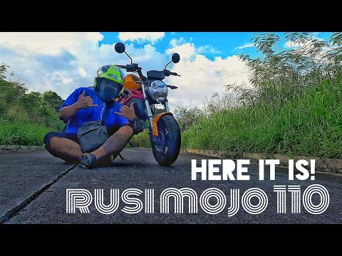 Rusi Mojo 110! New Addition To The Family!