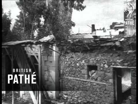 Italian Troops Enter Addis Ababa (1936)