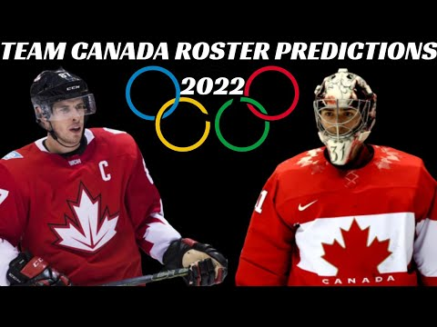 2022 Team Canada Olympic Hockey Roster Predictions