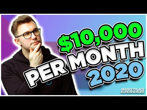 Make $10,000 Per Month Selling On Amazon!