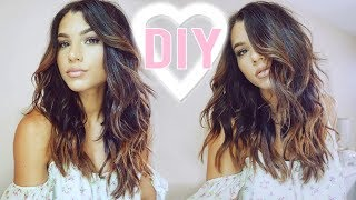 HIGHLIGHTS AT HOME (UNDER $10!) DIY BALAYAGE HAIR EXTENSIONS