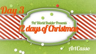 Twelve Days of Christmas - Day Three - Pet Product TV - Art-Casso - Unleash Your Pet
