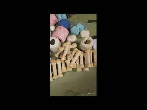 lathe project wood thread spools