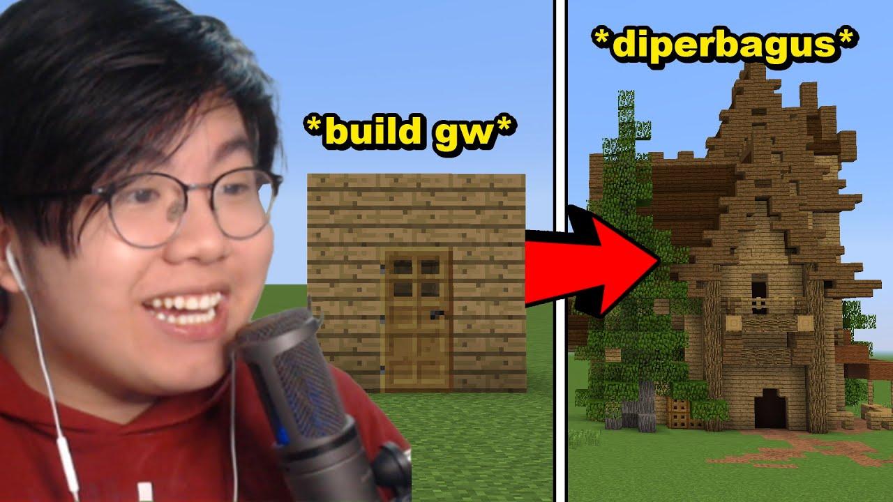 Youtuber Minecraft Yang Bisa Memperbagus Build Gw Dapet Satu Juta Rupiah