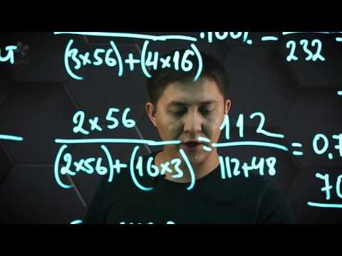 Қосылыстардағы элементтердің массалық үлесін анықтау. 8 сынып.
