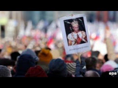 В России проходят акции протеста сторонников Навального / Новости