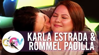 Vice dares Rommel to kiss Karla | GGV