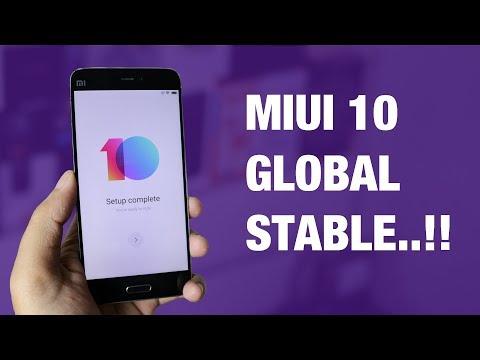 Cara Install MIUI 10 Global Stable FINAL Sekarang Juga