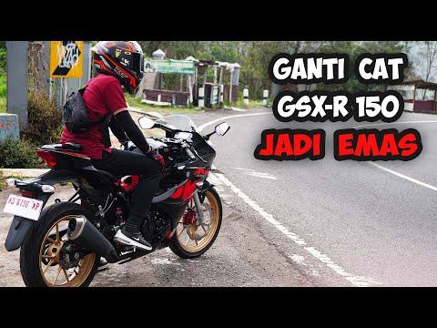 Repaint Velg GSX R150 Jadi Lebih Racing Look Dan Cakep