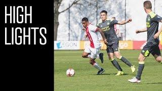 Highlights Ajax O19 - PSV O19