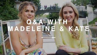 Q&A w Madeleine Shaw & In the Kitchen With Kate  Wild Dish