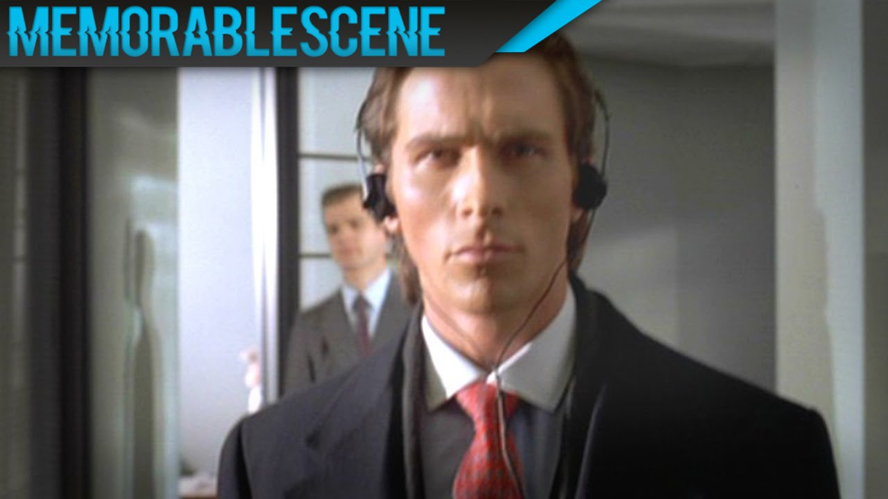 American Psycho Quotes American Psycho  Walking On Sunshine  Youtube