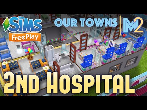 Sims FreePlay – 2nd Hospital (Original Design)