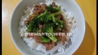 Ca Brokoli Daging Sapi - Ala Hariyanti Dian