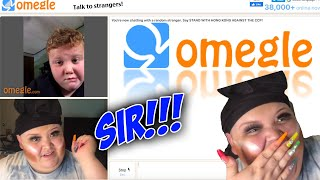 Part 2: Rosa Takes Over Omegle! 😌