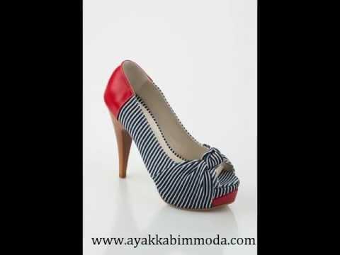 Kırmızı Topuklu Ayakkabı Modelleri
