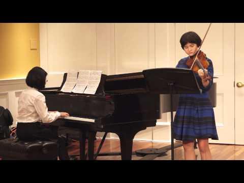 Telemann: Sonata in G Major (Rivers Conservatory Program)