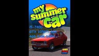 My Summer Car on i5-7400 GTX 1050Ti 4GB 8GB RAM