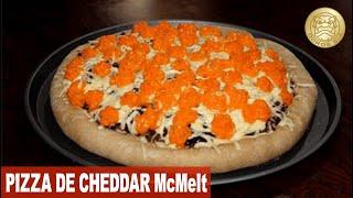 Pizza de Hambúrguer Cheddar McMelt - Receita Incrível, Você Tem que Provar