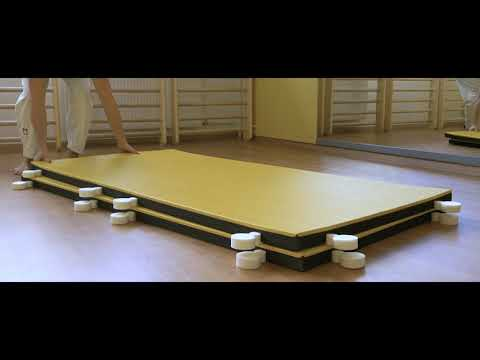 "Video: ProGame Trocellen ""I-TIS Training"" Judo Mat"