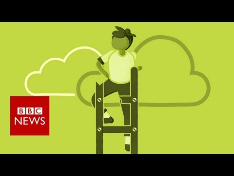 A glass ceiling – or a broken ladder?- BBC News