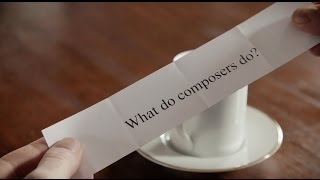 Class Notes: How do composers compose?