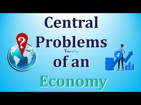 0 - Central Problems of an Economy - Examples
