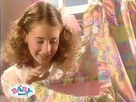 Zapf Baby Born Werbung Bettchen 2000 Youtube