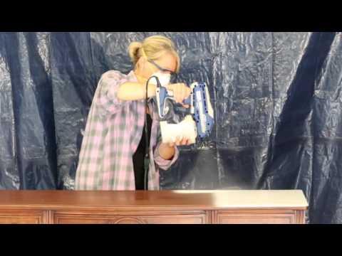 Graco TrueCoat 360 Series - How to Spray