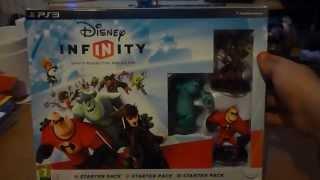 Disney Infinity Starter Pack Unboxing.