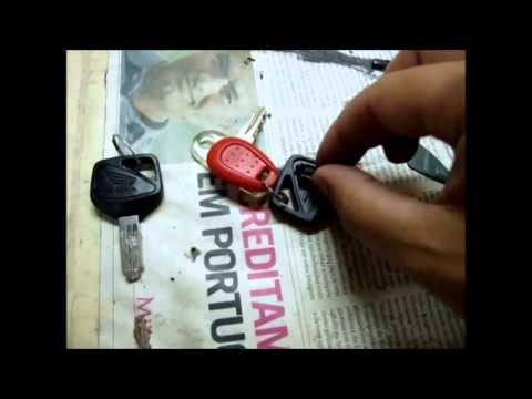 Honda H I S S  system keys changing coded chip
