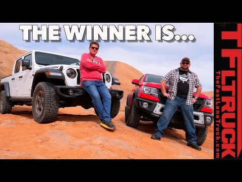 2020 Jeep Gladiator vs Chevy ZR2 Bison: Watch These Off-Road Titans Battle it out in Moab, Utah!