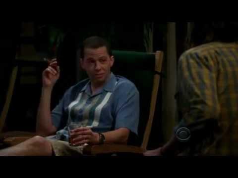 Alan Harper Becomes Charlie Harper - Two And A Half Men Season 9