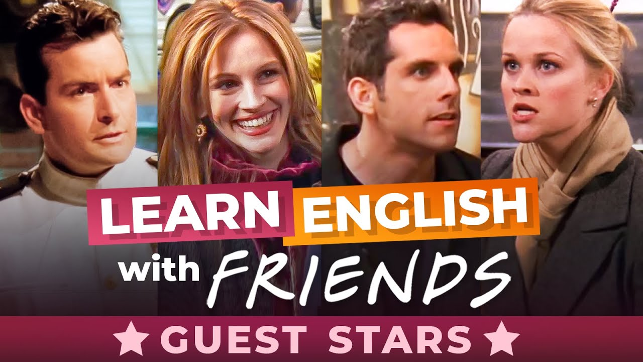 10 English Expressions From 10 Guest Stars On Friends