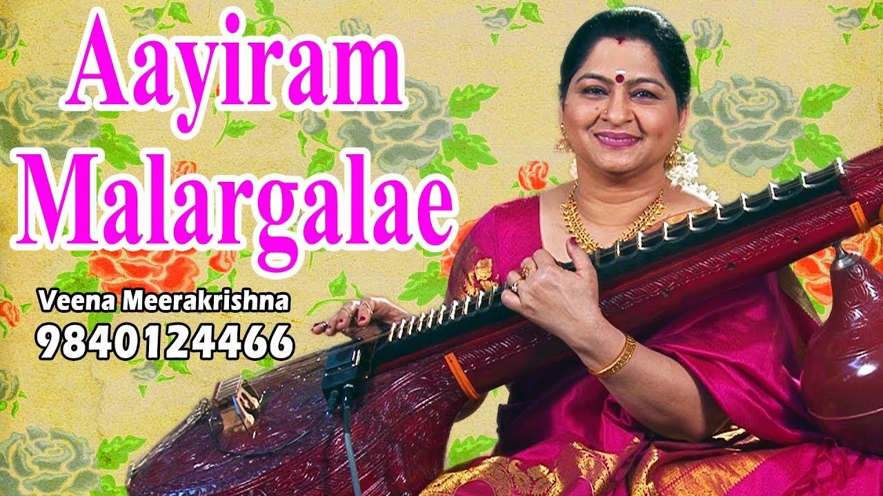 Aayiram Malargalae | ஆயிரம் மலர்களே - film Instrumental by Veena Meerakrishna